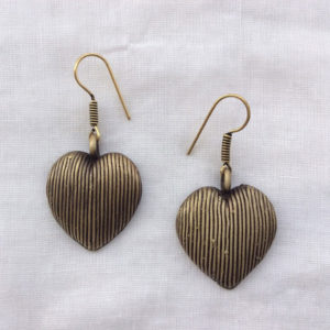 Silver Polished handmade Earrings